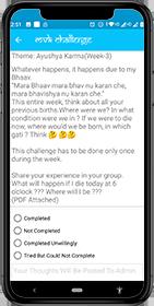 Mann Vachana Kaya (MVK) Challenge